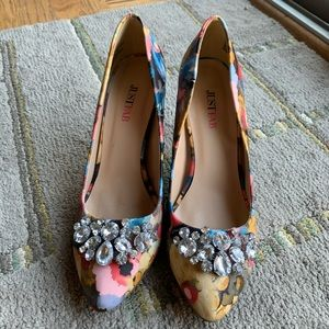 Just Fab heels, size 6.5
